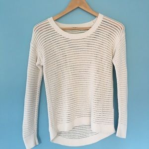 Madewell• Crew Neck Open Knit sweater